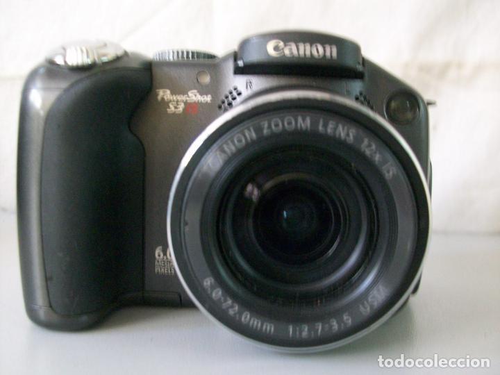 CAMARA FOTOGRAFICA DIGITAL-CANON-POWER SHOT-S3IS (Cámaras Fotográficas - Otras)