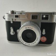 Cámara de fotos: CAMARA MINOX LEICA M3 5MPX. Lote 228150785