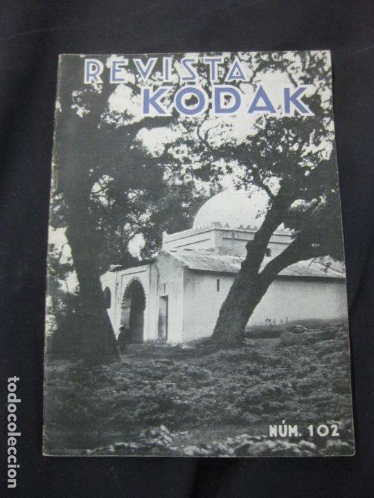 REVISTA KODAK. Nº 102. OCTUBRE DE 1933. (Cámaras Fotográficas - Catálogos, Manuales y Publicidad)