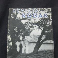 Cámara de fotos: REVISTA KODAK. Nº 102. OCTUBRE DE 1933.. Lote 228256165