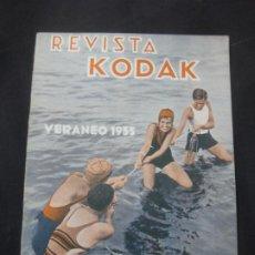 Cámara de fotos: REVISTA KODAK.VERANEO 1933. Nº 101. AGOSTO 1933. FOTOGRAFIAS DE EMBARCACIONES EN MOVIMIENTO.. Lote 228256550