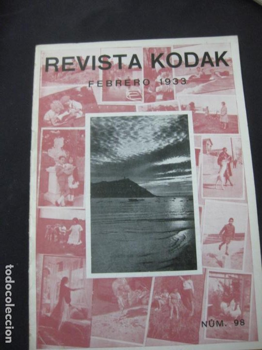 REVISTA KODAK Nº 98. FEBRERO DE 1933. LA FOTOGRAFIA EN INVIERNO. TITULADOR CINE KODAK. (Cámaras Fotográficas - Catálogos, Manuales y Publicidad)
