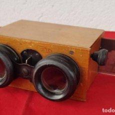 Cámara de fotos: VISOR ESTEREOSCOPICO PRINCIPIOS S XX. Lote 230345760