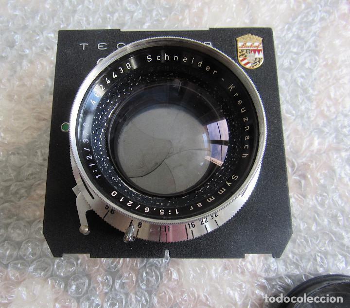 Cámara de fotos: 210mm f5,6/ 370mm f12 Schneider Symmar convertable lens. Linhof shutter, lens board, caps - Foto 4 - 223205867