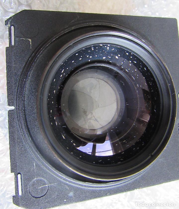 Cámara de fotos: 210mm f5,6/ 370mm f12 Schneider Symmar convertable lens. Linhof shutter, lens board, caps - Foto 6 - 223205867