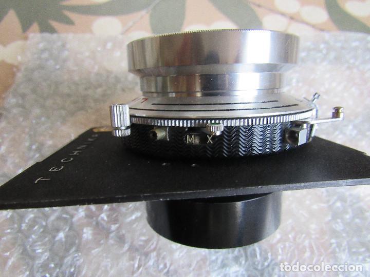 Cámara de fotos: 210mm f5,6/ 370mm f12 Schneider Symmar convertable lens. Linhof shutter, lens board, caps - Foto 7 - 223205867