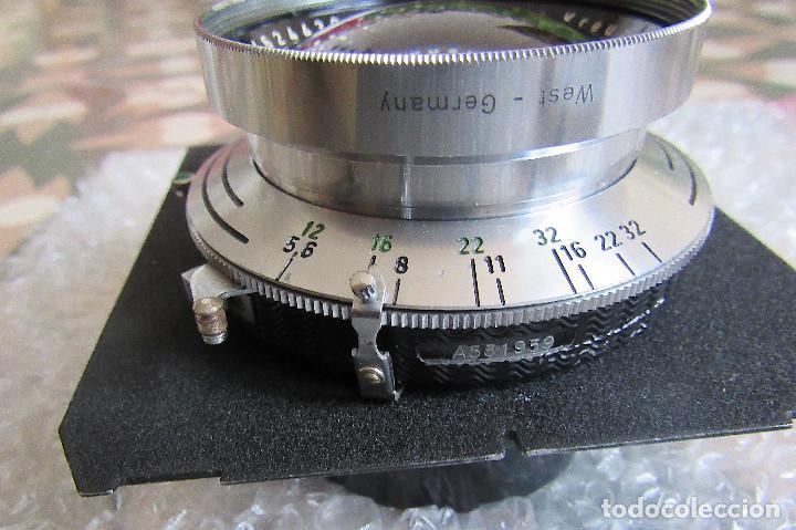 Cámara de fotos: 210mm f5,6/ 370mm f12 Schneider Symmar convertable lens. Linhof shutter, lens board, caps - Foto 8 - 223205867