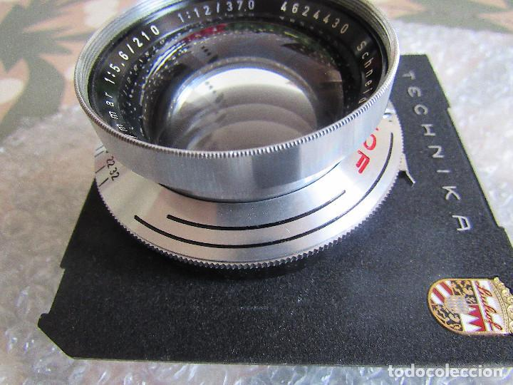 Cámara de fotos: 210mm f5,6/ 370mm f12 Schneider Symmar convertable lens. Linhof shutter, lens board, caps - Foto 9 - 223205867