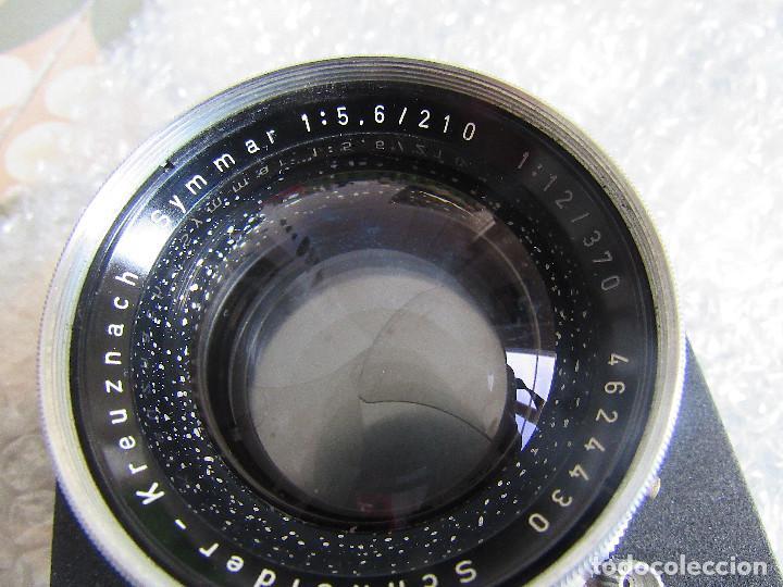 Cámara de fotos: 210mm f5,6/ 370mm f12 Schneider Symmar convertable lens. Linhof shutter, lens board, caps - Foto 11 - 223205867
