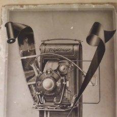 Cámara de fotos: PRECIOSO CARTEL DE VOIGTLANDER, AÑOS 30 - ORIGINAL CARTON GRUESO. Lote 231073350