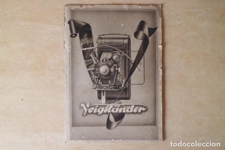 Cámara de fotos: PRECIOSO CARTEL DE VOIGTLANDER, AÑOS 30 - ORIGINAL CARTON GRUESO - Foto 3 - 231073350
