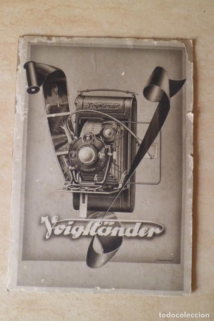 Cámara de fotos: PRECIOSO CARTEL DE VOIGTLANDER, AÑOS 30 - ORIGINAL CARTON GRUESO - Foto 4 - 231073350
