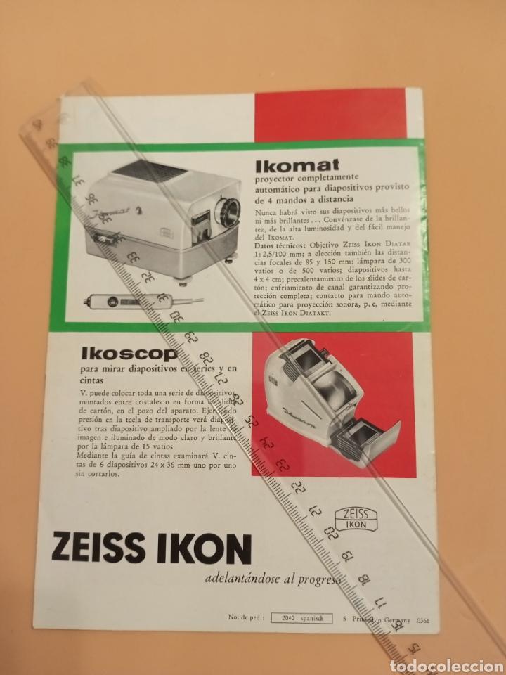 Cámara de fotos: Zeus Ikon Catálogo Cámaras y proyectores Torres Molina Granada - Foto 4 - 231900240