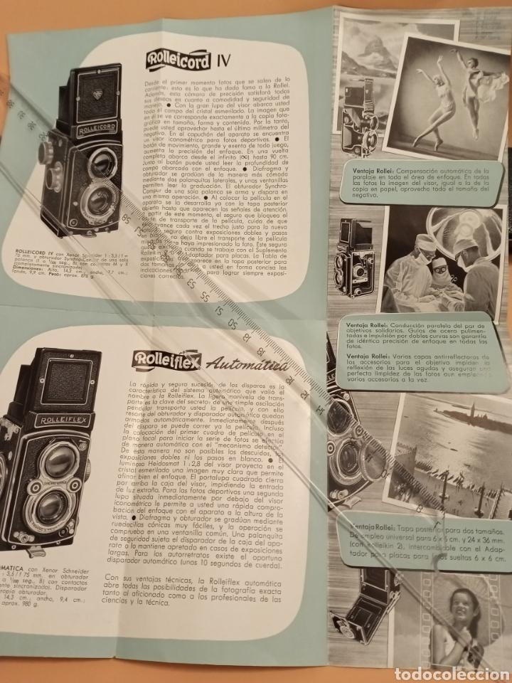 Cámara de fotos: Rollei Catálogo triptico Complementos - Foto 4 - 231900750