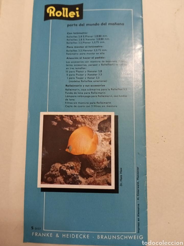 Cámara de fotos: Catalogo Rolleifex - Foto 3 - 232067270