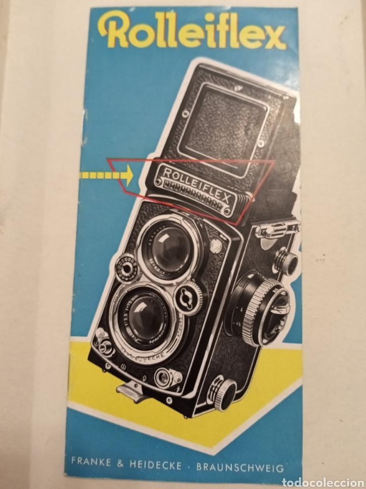 CATALOGO ROLLEIFEX (Cámaras Fotográficas - Catálogos, Manuales y Publicidad)