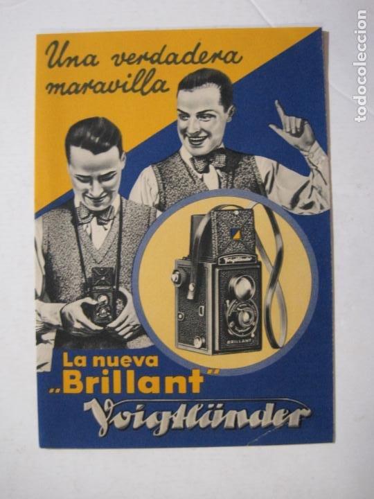 VOIGTLÄNDER-LA NUEVA BRILLANT-CATALOGO PUBLICIDAD CAMARA FOTOGRAFICA-VER FOTOS-(K-1523) (Cámaras Fotográficas - Catálogos, Manuales y Publicidad)