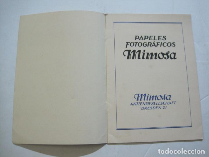 Cámara de fotos: PAPELES FOTOGRAFICOS MIMOSA-CATALOGO 857-PUBLICIDAD DE FOTOGRAFIA-VER FOTOS-(K-1526) - Foto 2 - 233159365