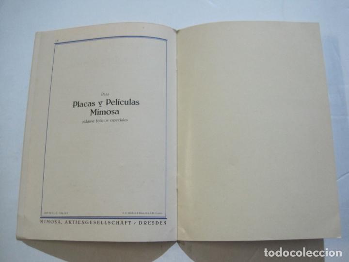 Cámara de fotos: PAPELES FOTOGRAFICOS MIMOSA-CATALOGO 857-PUBLICIDAD DE FOTOGRAFIA-VER FOTOS-(K-1526) - Foto 8 - 233159365