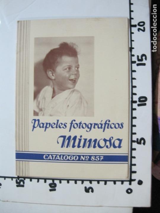 Cámara de fotos: PAPELES FOTOGRAFICOS MIMOSA-CATALOGO 857-PUBLICIDAD DE FOTOGRAFIA-VER FOTOS-(K-1526) - Foto 10 - 233159365