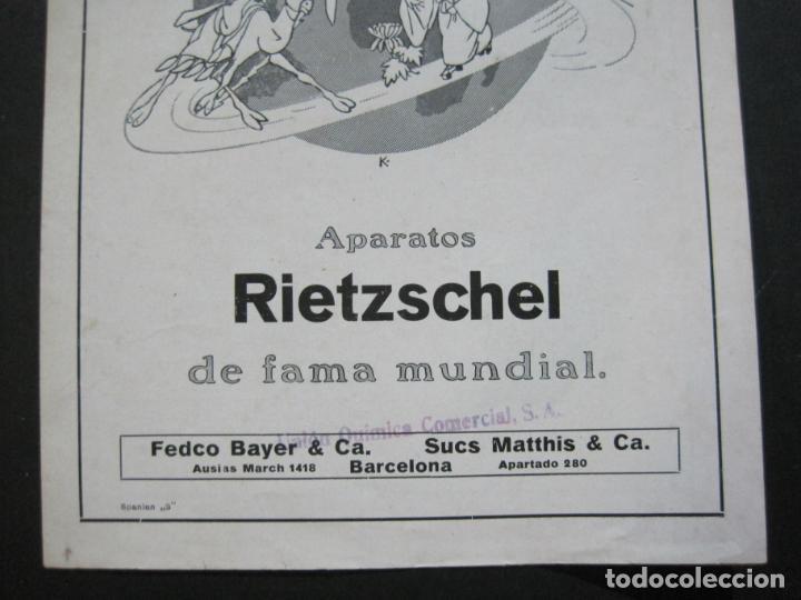 Cámara de fotos: RIETZCHEL-APARATOS DE FAMA MUNDIAL-CATALOGO PUBLICIDAD DE FOTOGRAFIA-VER FOTOS-(K-1533) - Foto 4 - 233160660