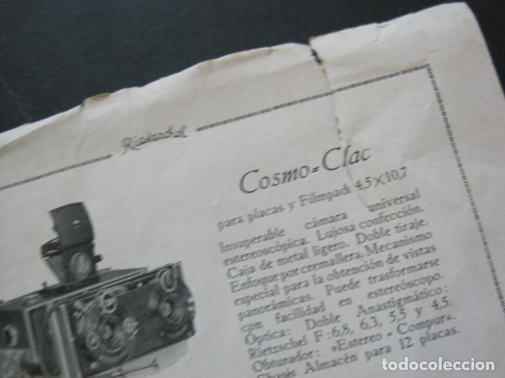 Cámara de fotos: RIETZCHEL-APARATOS DE FAMA MUNDIAL-CATALOGO PUBLICIDAD DE FOTOGRAFIA-VER FOTOS-(K-1533) - Foto 6 - 233160660