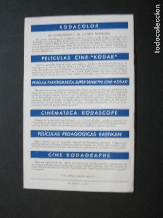 Cámara de fotos: CINE KODAK-EL CINE EN EL HOGAR-CATALOGO PUBLICIDAD DE FOTOGRAFIA-VER FOTOS-(K-1534) - Foto 5 - 233160885