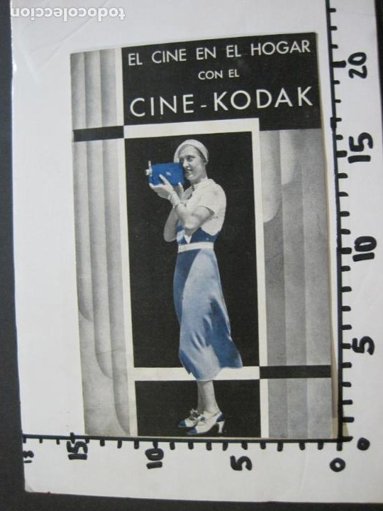 Cámara de fotos: CINE KODAK-EL CINE EN EL HOGAR-CATALOGO PUBLICIDAD DE FOTOGRAFIA-VER FOTOS-(K-1534) - Foto 6 - 233160885