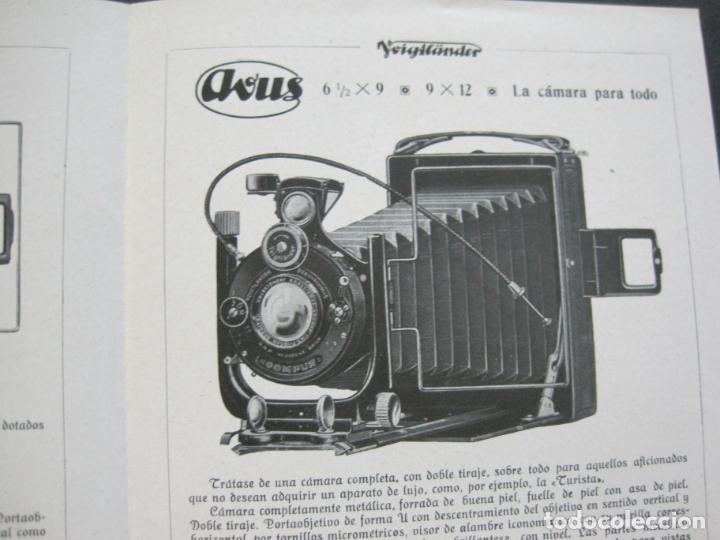 Cámara de fotos: VOIGTLÄNDER-STEREFLEKTOSKOP-CATALOGO PUBLICIDAD DE FOTOGRAFIA-VER FOTOS-(K-1540) - Foto 4 - 233162485