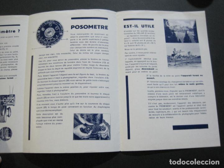 Cámara de fotos: VOIGTLÄNDER-PROMINENT-CATALOGO PUBLICIDAD DE FOTOGRAFIA-VER FOTOS-(K-1541) - Foto 4 - 233162660