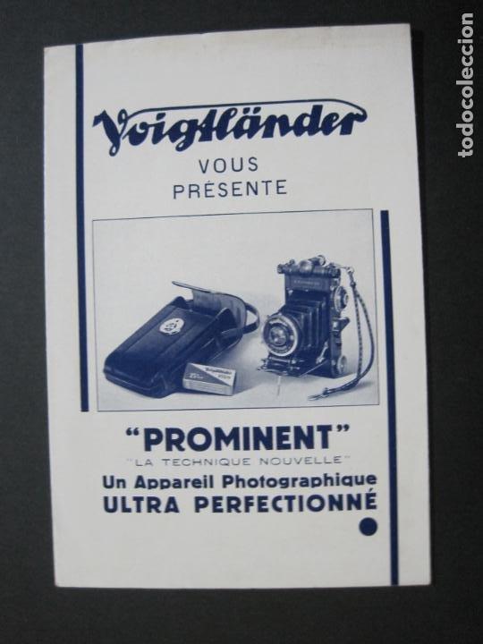 VOIGTLÄNDER-PROMINENT-CATALOGO PUBLICIDAD DE FOTOGRAFIA-VER FOTOS-(K-1541) (Cámaras Fotográficas - Catálogos, Manuales y Publicidad)