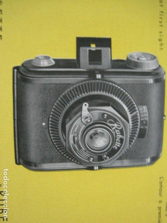 Cámara de fotos: RUBETTE-RUBERG FUTURO & PRÄSENT-CATALOGO PUBLICIDAD DE FOTOGRAFIA-VER FOTOS-(K-1542) - Foto 2 - 233163155