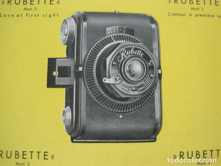Cámara de fotos: RUBETTE-RUBERG FUTURO & PRÄSENT-CATALOGO PUBLICIDAD DE FOTOGRAFIA-VER FOTOS-(K-1542) - Foto 6 - 233163155