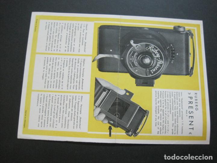 Cámara de fotos: RUBETTE-RUBERG FUTURO & PRÄSENT-CATALOGO PUBLICIDAD DE FOTOGRAFIA-VER FOTOS-(K-1542) - Foto 7 - 233163155
