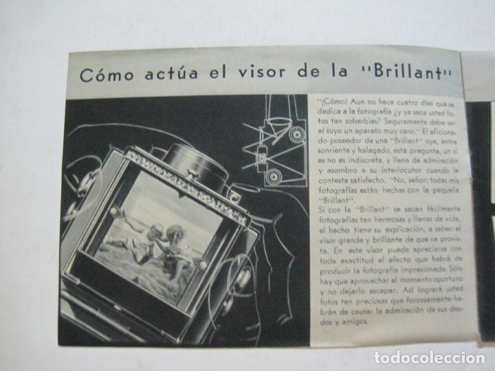 Cámara de fotos: VOIGTLÄNDER-BRILLANT-CATALOGO PUBLICIDAD DE FOTOGRAFIA-VER FOTOS-(K-1551) - Foto 2 - 233165500