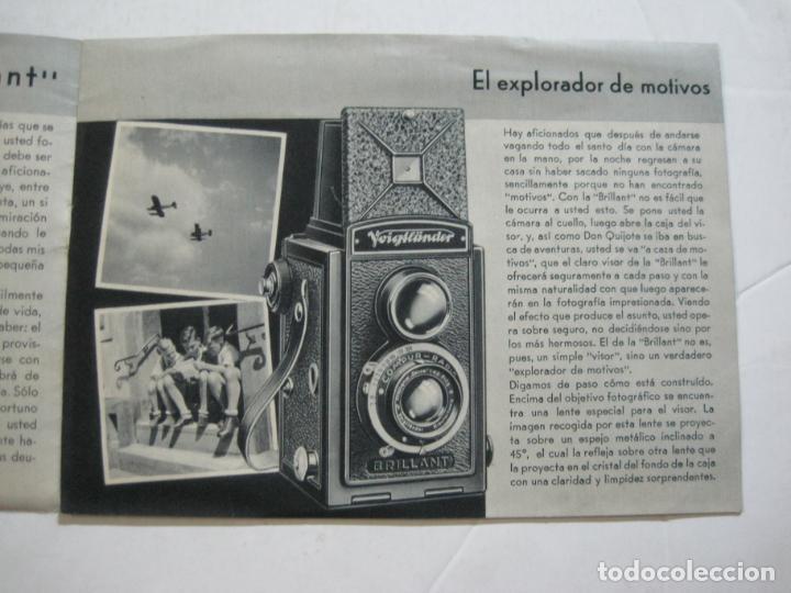 Cámara de fotos: VOIGTLÄNDER-BRILLANT-CATALOGO PUBLICIDAD DE FOTOGRAFIA-VER FOTOS-(K-1551) - Foto 3 - 233165500