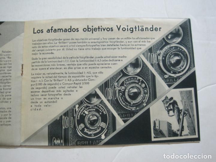 Cámara de fotos: VOIGTLÄNDER-BRILLANT-CATALOGO PUBLICIDAD DE FOTOGRAFIA-VER FOTOS-(K-1551) - Foto 5 - 233165500