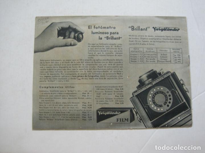 Cámara de fotos: VOIGTLÄNDER-BRILLANT-CATALOGO PUBLICIDAD DE FOTOGRAFIA-VER FOTOS-(K-1551) - Foto 8 - 233165500