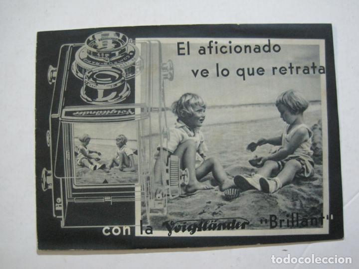 VOIGTLÄNDER-BRILLANT-CATALOGO PUBLICIDAD DE FOTOGRAFIA-VER FOTOS-(K-1551) (Cámaras Fotográficas - Catálogos, Manuales y Publicidad)