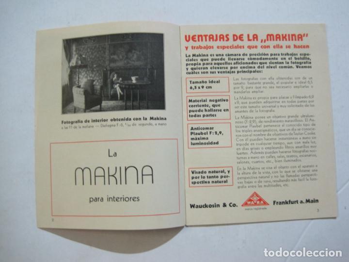 Cámara de fotos: MAKINA-LA CAMARA PRECIOSA PARA TRABAJOS DE CALIDAD-CATALOGO PUBLICIDAD FOTOGRAFIA-VER FOTOS-(K-1552) - Foto 3 - 233165625