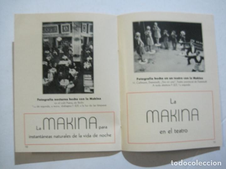 Cámara de fotos: MAKINA-LA CAMARA PRECIOSA PARA TRABAJOS DE CALIDAD-CATALOGO PUBLICIDAD FOTOGRAFIA-VER FOTOS-(K-1552) - Foto 5 - 233165625