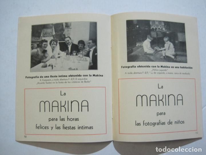 Cámara de fotos: MAKINA-LA CAMARA PRECIOSA PARA TRABAJOS DE CALIDAD-CATALOGO PUBLICIDAD FOTOGRAFIA-VER FOTOS-(K-1552) - Foto 6 - 233165625