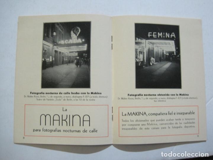 Cámara de fotos: MAKINA-LA CAMARA PRECIOSA PARA TRABAJOS DE CALIDAD-CATALOGO PUBLICIDAD FOTOGRAFIA-VER FOTOS-(K-1552) - Foto 7 - 233165625