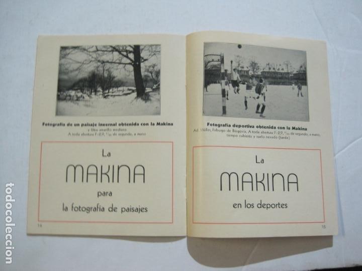Cámara de fotos: MAKINA-LA CAMARA PRECIOSA PARA TRABAJOS DE CALIDAD-CATALOGO PUBLICIDAD FOTOGRAFIA-VER FOTOS-(K-1552) - Foto 8 - 233165625