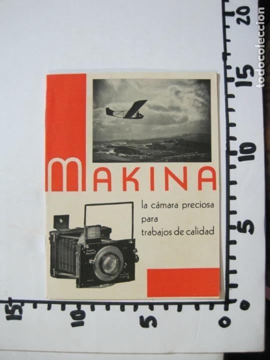 Cámara de fotos: MAKINA-LA CAMARA PRECIOSA PARA TRABAJOS DE CALIDAD-CATALOGO PUBLICIDAD FOTOGRAFIA-VER FOTOS-(K-1552) - Foto 11 - 233165625