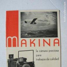 Cámara de fotos: MAKINA-LA CAMARA PRECIOSA PARA TRABAJOS DE CALIDAD-CATALOGO PUBLICIDAD FOTOGRAFIA-VER FOTOS-(K-1552). Lote 233165625