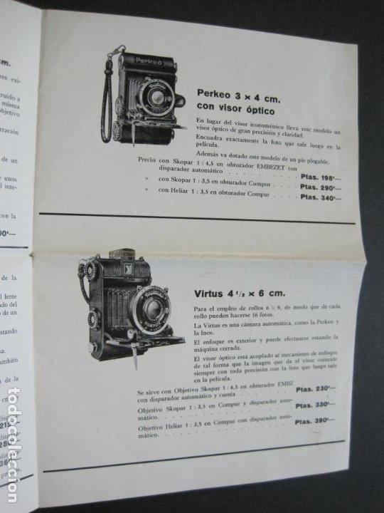 Cámara de fotos: BARCELONA-FOTOGRAFIA C.BEHMÜLLER-VOIGTLÄNDER-1933-CATALOGO PUBLICIDAD FOTOGRAFIA-VER FOTOS-(K-1556) - Foto 4 - 233301740