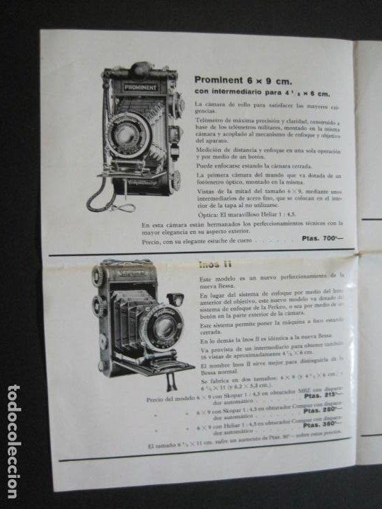 Cámara de fotos: BARCELONA-FOTOGRAFIA C.BEHMÜLLER-VOIGTLÄNDER-1933-CATALOGO PUBLICIDAD FOTOGRAFIA-VER FOTOS-(K-1556) - Foto 6 - 233301740