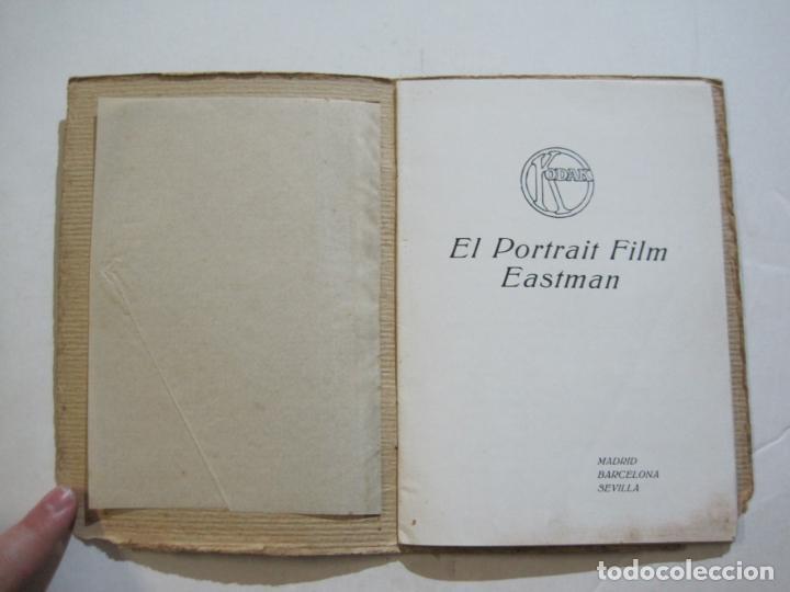 Cámara de fotos: KODAK-EL PORTRAIT FILM EASTMAN-CATALOGO PUBLICIDAD FOTOGRAFIA-VER FOTOS-(K-1558) - Foto 4 - 233302465