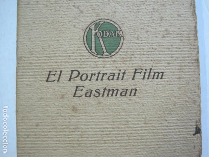 Cámara de fotos: KODAK-EL PORTRAIT FILM EASTMAN-CATALOGO PUBLICIDAD FOTOGRAFIA-VER FOTOS-(K-1558) - Foto 2 - 233302465